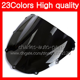 Discount honda cbr windshield - 100%New Motorcycle Windscreen For HONDA CBR954RR 02 03 CBR900RR CBR 954 RR 900RR CBR954 RR 2002 2003 Chrome Black Clear