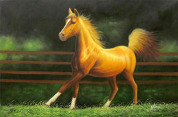 $enCountryForm.capitalKeyWord UK - Framed, R372#, Horse Western Equestrian Rodeo Animal Art, Pure Handpainted Wall Decor Art Oil Painting Multi Sizes can be customized