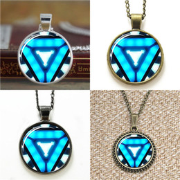 Marvel pendants online shopping - 10pcs Iron Necklace Marvel Pendant Iron Glass Photo Cabochon Necklace keyring bookmark cufflink earring bracelet