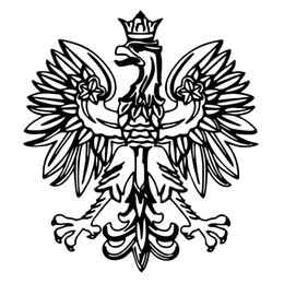 symbol decor 2019 - Polish Eagle Vinyl Decal Poland Emblem Funny Car Styling Jdm Sticker Bird Symbol Car Truck Accessories Decor Art cheap s