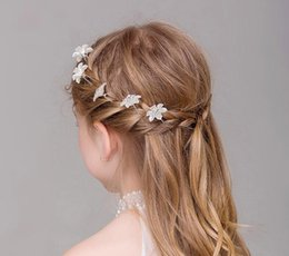 starfish wedding hair 2018 - Starfish Flowers Hair Jewelry Wedding Bridal Children Hair Jewelry Silver Color Starfish Bridal Hairpin Headdress 2017 N