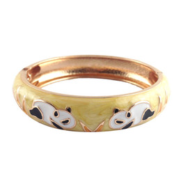 Chinese  animal panda deisgn bracelet national style bangle fashion Accessories Women Jewelry elegant unique Bangle best gift Z075C manufacturers