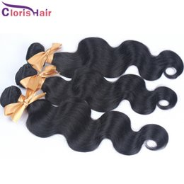 best wavy human hair extensions 2020 - Best Brazilian Body Wave Human Hair Weaves Cheap Unprocessed Wavy Brazillian Remi Hair Extensions 3 Bundles Deals For Sa