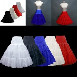 Jupes Nacelles Nettes Pas Cher-Hot Sale Retro Underskirt Swing Fancy Net Skirt Rockabilly Tutu Beaucoup de couleurs disponibles Vintage Petticoats Bridal Wedding Tutu Petticoat