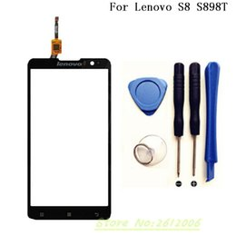 $enCountryForm.capitalKeyWord Canada - Wholesale- 5.3 inch Touch Screen Lens Sensor Original Touch Panel Perfect Repair Parts For Lenovo S8 S898T Mobile Accessories+tools
