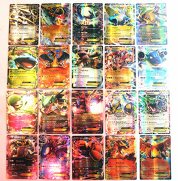 Ex gamEs online shopping - No Repeat English POKER GX Trading Card Card Mega Cards EX Cards For TCG Cards Games KIDS TOY AS A GIFT