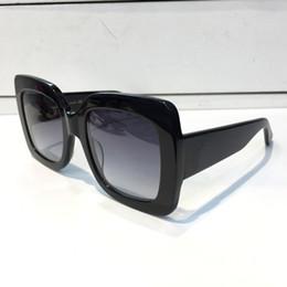 0083 Popular Óculos De Sol Das Mulheres De Luxo Designer De Marca 0083S Estilo Quadrado De Verão Quadro Completo Qualidade Superior Proteção UV Cor Misturada Vem Com Caixa
