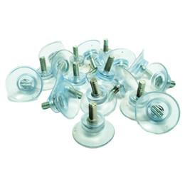 Замены чашки всасывания 20 ПК резиновые сильные для стеклянных столешниц, с М6 / М8