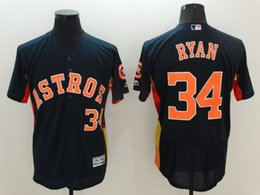 ... 2017 MLB Mens Houston Astros 34 Nolan Ryan 27 Altuve 4 Springer 34 Ryan  1 Correa Youth Jimmy Wynn Replica Navy Blue ... 7353a642f