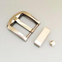 Ingrosso Fibbia per cintura in titanio puro con passante per cintura Bullone anti-allergico anti-corrosione per luce 48 per cintura larga 38mm a 39mm