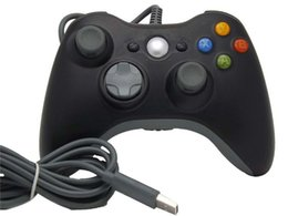 Discount usb game controller for pc gamepad - Xbox 360 Controller Gamepad USB Wired Joypad XBOX360 PC Joystick Black Xbox360 Game controllers for Laptop Computer PC F