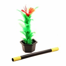$enCountryForm.capitalKeyWord NZ - 1 Set Magic Wand To Flower Easy Magic Tricks Show Toys For Adults Kids Prop Toys For Boys Fun For Children Gifts