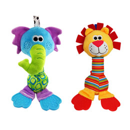 $enCountryForm.capitalKeyWord Australia - Hot multi-functional monkey animal giraffe toy catch rattle baby toys