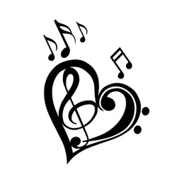 Shop Music Notes Stickers UK | Music Notes Stickers free