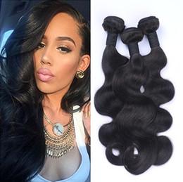 $enCountryForm.capitalKeyWord NZ - BW Bouncy Cheap Brazilian Body Wave Weave Virgin Human Hair 3 Bundles Body Wave Hair 8A Unprocessed Top Quality Free Shipping Full Soft
