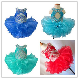 $enCountryForm.capitalKeyWord Canada - Toddler Pageant Halter Cupcake Dress Baby Girls Short National Glitz Tutu Infant Formal Wear Cupcake Dresses