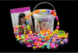 $enCountryForm.capitalKeyWord Canada - DIY Children's Intelligence Bead Toy Arts and Crafts for Girls -290 Pieces Set