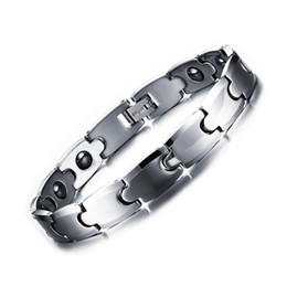 Chinese  2017 Hot Fashion Tungsten Bracelet Men, Cool Mens & Boys Health Care Magnet Bangles and Bracelets for Women Bracelet Men Gift manufacturers