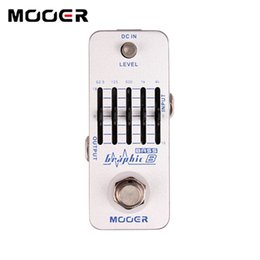Eq Pedal NZ - MOOER Graphic B 5-Band Bass Equalizer Pedal Graphic EQ with master level control Guitar effect pedal