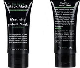 Black Peel Off Mask Blackhead Canada - Shills Peel-off face Masks Deep Cleansing Black MASK 50ML Blackhead Facial Mask Shills Deep Cleansing Black MASK Matte