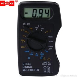 $enCountryForm.capitalKeyWord NZ - Digital Multimeter AC DC Tester Voltmeter Stable Performance with LCD Screen Measuring Current Resistance Diode Test New +B