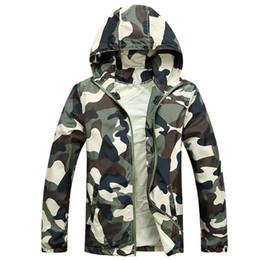 $enCountryForm.capitalKeyWord Canada - Free Shipping 2017 Hot Sale Mens Outwear Thin Jackets Coats Fashion Camouflage Jacket Summer Male Hooded Sunscreen Coat Cheap