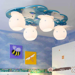 Blue Light Children S Room Bedroom Boy Children S Lamp Playground Kindergarten Ceiling Lamp Cartoon Led Lamp