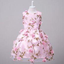 $enCountryForm.capitalKeyWord Canada - Newest Princess girl dress Kids Girls Flower Fairies Party Dress Costume Xmas Baby Children Dresses Clothes Fantasia Vestidos Pageant