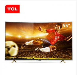 TCL 55 inch curved surface Exclusive Edition viewing king android smart TV the whole ecological HDR true 4K resolution of 3840 * 2160 Smart Tvs Online Shopping | Tv for Sale