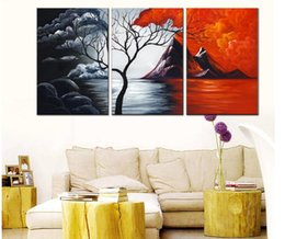 module three NZ - Triple Abstract Decorative Painting Module Picture HD Print Canvas Oil Painting Home Decorative Film Poster Modern Art