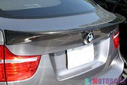 $enCountryForm.capitalKeyWord Canada - A Style G Fiber Trunk boot Lip Spoiler X6 E71 X-Drive Fit For BMW