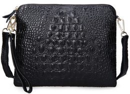 Ostrich Leather Clutch Bag Canada - clutch purse wallet bag women shoulder handbag ostrich tote lady new arrive RU France BE crocodile Togo genuine leather bags Paris US JP