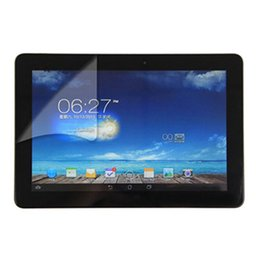 """$enCountryForm.capitalKeyWord Canada - Wholesale- 5pcs lot PET Clear LCD Front Screen Protector Guard Film For ASUS MeMO Pad 10 ME102A ME102 KOOF 10.1"""" Tablet PC"""