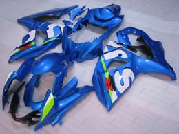 Fairing K9 Australia - Plastic Fairings GSX R1000 13 14 Bodywork GSXR 1000 2012 Blue LOGO Full Body Kits GSXR1000 09 10 2009 - 2014 K9