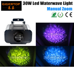 wave effect lighting Canada - Freeshipping 30W Led Water Light Water Effect Plate Wave Effect For Disco,Party light,Club 110V-240V Hot Selling for wedding TP-E06
