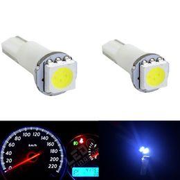 $enCountryForm.capitalKeyWord Canada - 100PC LOT Auto Car 5050 SMD T5 74 70 37 Car Dash Wedge Dashboard Instrument LED Light White 12 V DC