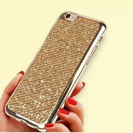 $enCountryForm.capitalKeyWord Canada - 2017 New cell phone cases for iphone 6 6plus samsung bling case cover glittering Soft PC case design for iphone 5 5S 5SE 6S 6Splus 7 7plus