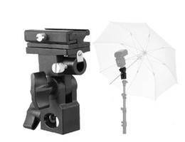 $enCountryForm.capitalKeyWord Canada - Flash Shoe Umbrella Holder Swivel Light Stand Bracket Type B Universal Mount for Photo Studio Camera