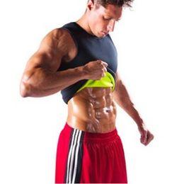$enCountryForm.capitalKeyWord UK - Men's Sauna Vest Ultra Sweat Shapers Shirt Man Black Shaper Men's Reduce Shaper Slimming Waist Trainer Corsets shapewear