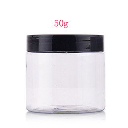 $enCountryForm.capitalKeyWord UK - 50g DIY transparent plastic mask cream PET cosmetic box jar bottles containers ,1.75oz empty plastic container for DIY cosmetic
