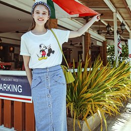 Discount Long Straight Denim Skirts | 2017 Long Straight Denim ...