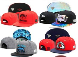 Discount best swag hats wholesale best dad hat Swag Cayler Sons Snapback Caps Flat Hip Hop Cap Baseball Hats For Men Snapbacks Casquette Bone Ab