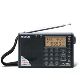 Sw Pack NZ - Wholesale-2016 Factory Tecsun PL-310ET Full Band Radio Digital Demodulator FM AM SW LW Stereo Radio TECSUN PL310ET Free Shipping