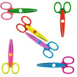 Vente en gros 5 pouces artisanat ciseaux enfants coupe-papier pour Scrapbook School Mix 6 couleurs enfants Hot Love Scissor C123Q