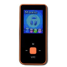 multi screen player 2019 - Wholesale- High-quality 8G MP3 Music Player 1.8 Inch Screen FM radio  support 64G TF Micro SD card slot with multi-langu