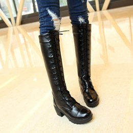$enCountryForm.capitalKeyWord Canada - free shipping factory price snow square heel round nose lace up knee women boots fashion 097