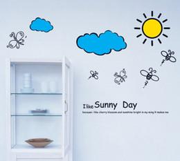 Girls wallpapers online shopping - New Design Kindergarten Wall Stickers Room Bedroom Art Decal Removeable Wallpaper Mural Sticker for Kids Girls Living Room