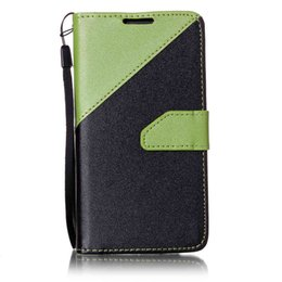$enCountryForm.capitalKeyWord UK - Case For Samsung Galaxy J5 J7 S4 i9500 S5 i9600 S6 S6 Edge S7 S7 Edge A3 A310 A510 Shell PU Leather Stand Wallet With Card Slots Rope Cover