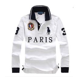 descuento poloshirt hombres camiseta Manga larga T camisa algodón hombres sexy París Londres Nueva York Berlín camisetas M L XL 2XL dropshipping en venta