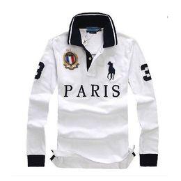 TshirT london online shopping - discounted poloshirt men tshirt Long Sleeves T shirt cotton sexy men Paris London New York Berlin tee shirts M L XL XL dropshipping